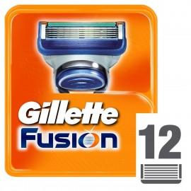Wkłady do maszynki GILLETTE Fusion 12 sztuk