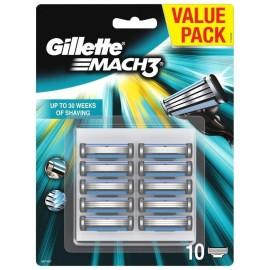 Wkłady do maszynki GILLETTE  Mach3 10 sztuk